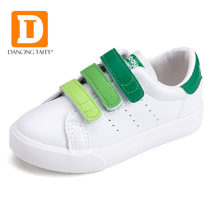 Brand 2017 Spring Fashion Children Shoes New Casual Kids Shoes 4 Color Boys Sports Sneakers Skate Board Pu Leather Girls Sneaker