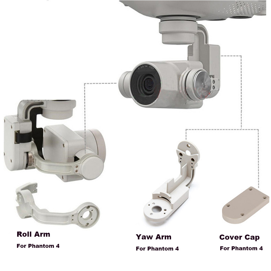 Phantom 4 Pro Cardan Caméra Lacet Bras Rouleau Bras Flex Câble supérieur Support Support pour DJI Phantom 4/Pro dji De Réparation Pièces De Rechange