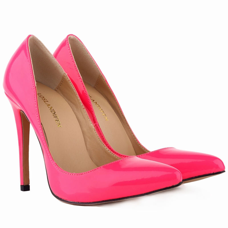 New Women's Pumps Sexy Pointed Toe High Heels Shoes For Woman Spring Autumn Brand Wedding Shoes Pumps  US SIZE 35-42    302-1PA sexy pointed toe high heels women pumps shoes new spring brand design ladies wedding shoes summer dress pumps size 35 42 302 1pa