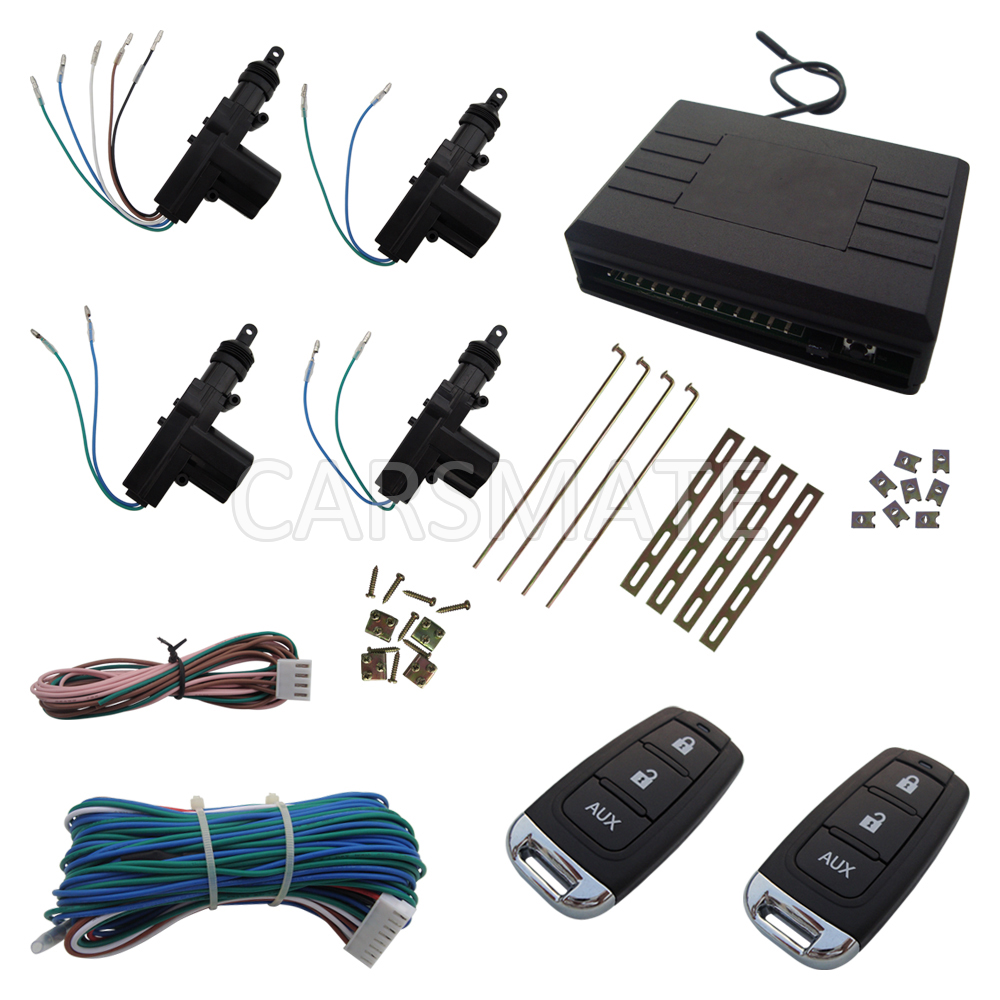 New Universal Car Remote Central Door Lock System With Trunk Release Function Product In Stock Quickly Shipping In 24 Hours