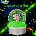 DIY Luminous Slime Modeling Clay Light Glow In The Dark Bouncing Mud Plasticine Playdough Education Novelty Creative Toys