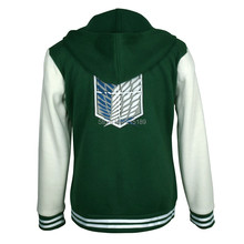 Attack On Titan Baseball Jacket