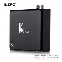 ILEPO KI Plus Android 5 1 1 Smart TV Box Amlogic S905 Quad Core 1GB 8GB