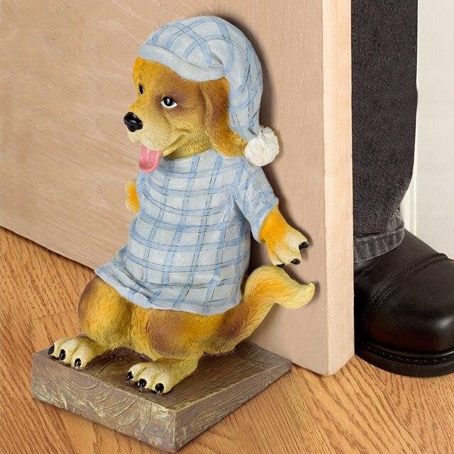 Animal Door Stops Dog And Cat Door Ends Bookends Ornament