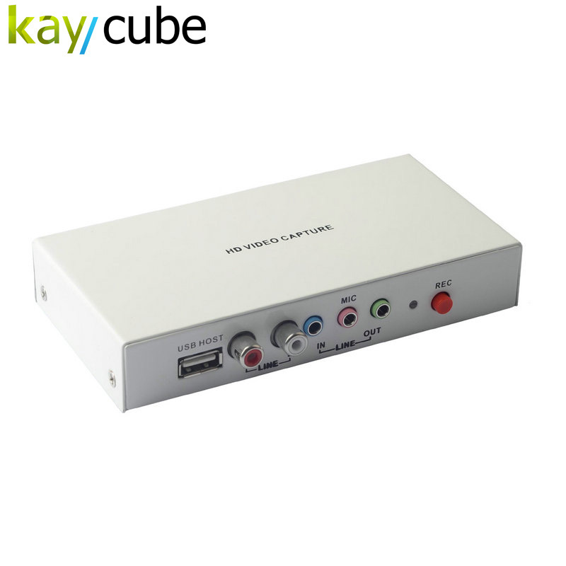 REL010 1080P HDMI HD Video Capture/HD Game Capture Support 1080P/YPbPr/MIC, Input HDMI YPbPr Recorder For STB,DVD Keycube