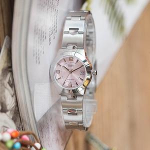 Image 3 - Casio relógio ponteiro série elegante quartzo, relógio feminino LTP 1241D 4A