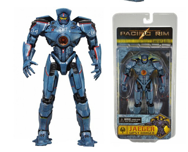 Hot Movie 18cm Pacific Rim Gipsy Danger Action Figures PVC brinquedos Collection Kids Christmas Gift with Retail box Kis Toys lps pet shop toys rare black little cat blue eyes animal models patrulla canina action figures kids toys gift cat free shipping