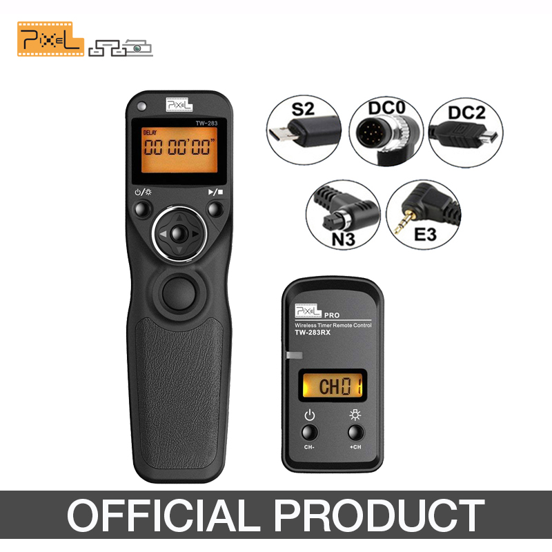 Pixel Shutter Release Camera Remote-Control Nikon D3400 D7000 D5300 Sony Samsung TW-283