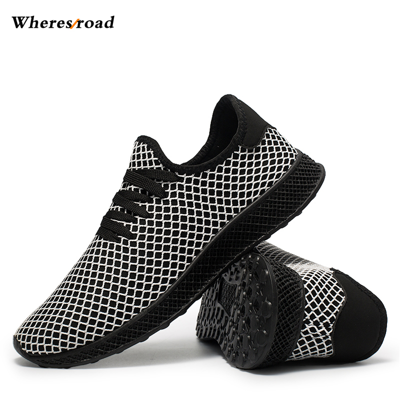 Brand Summer Men Socks Sneakers Beathable Mesh Male Shoes Lace up Sock Shoes Loafers Boys Super Light Sock Trainers