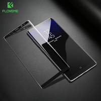 Floveme 3dスクリーンプロテクター用サムスン注8強化ガラスフィルム電話スクリーンプロテクター三星