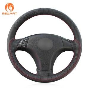 Image 4 - Mewant Zwart Lederen Suede Stuurhoes Voor Mazda 3 Axela 2004 2009 Mazda 5 2004 2010 mazda 6 Atenza Mazda Mpv