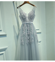 Sexy V-Neck Evening Dresses