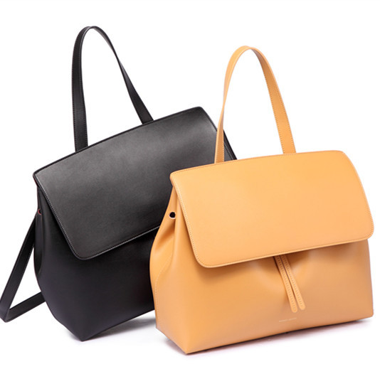 Mansur Gavriel women genuine leather lady bags lady real leather hand bag brand bag Shoulder bags Backpacks solid Cover hibo newest bucket bags mansur gavriel women genuine leather hand bag lady shoulder bag cross bag messenger free shipping