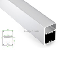 17 X 2 M Sets/Lot U Shape led aluminum profile and Large linear channel with driver place for wall lamps