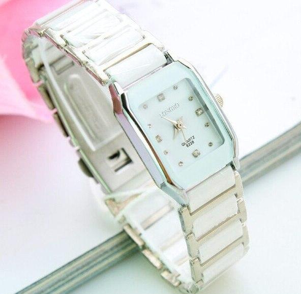 Original Brand LONGBO Lover Ceramic Watches Men Women Stainless Steel Band New Tags Quartz Analog Wristwatches Fashion Relogio
