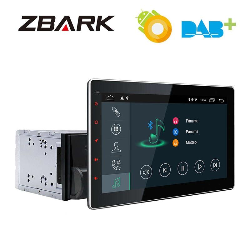 10.1 pouces Android 8.1 Double 2 Din universel GPS Navigation voiture stéréo lecteur Radio YHTY101A2