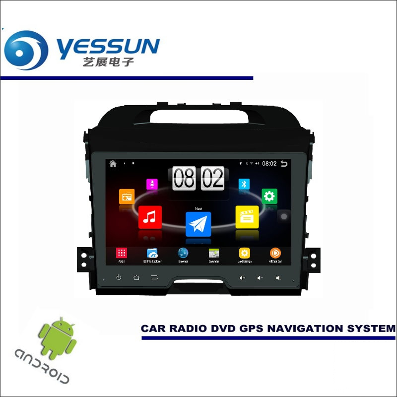YESSUN Car Android Player Multimedia For Kia Sportage R / SL 2010~2015 - Radio Stereo GPS Map Navi ( no CD DVD ) 9