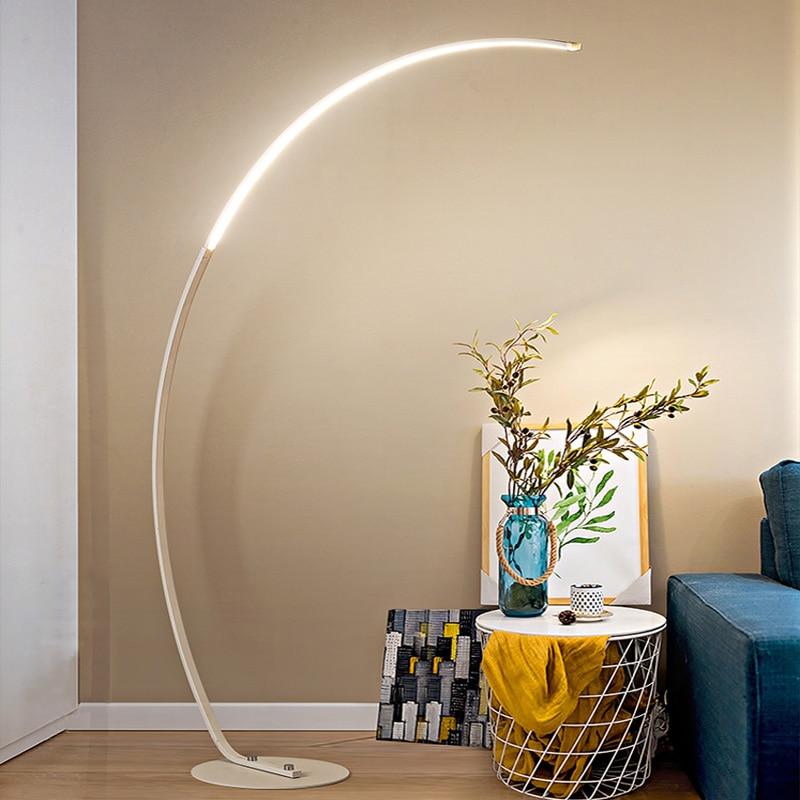 Led Moderne Eenvoudige Floor Lamp Staande Lamp Art Decoratie Nordic Stijl Voor Woonkamer Slaapkamer Studeerkamer Licht - 2