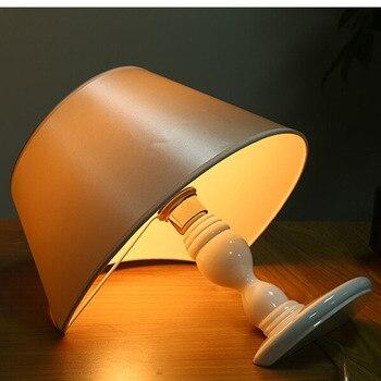 Современная светодиодная настольная лампа, настольная лампа, абажур, стеклянный шар, настольная лампа, настольная лампа для спальни, гостин
