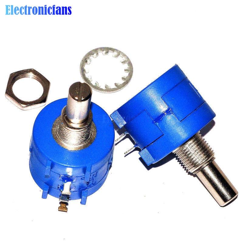 3590S-2-102L Pot de potentiomètre de précision bobiné rotatif 10 tours 1K Ohm