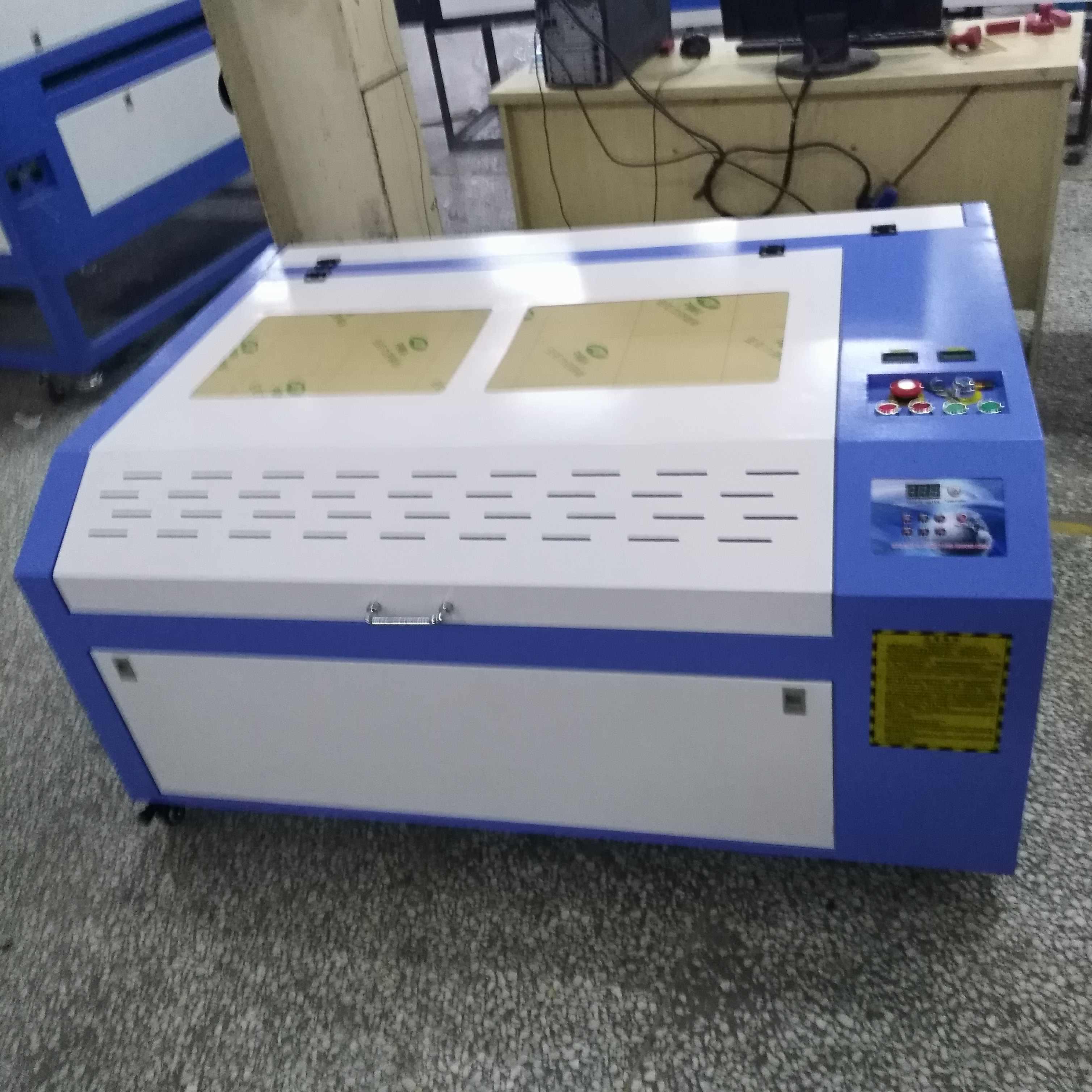 ¡OFERTA 2019! máquina de grabado y corte láser 80W 6090 envío gratis a Rusia, impuestos y aranceles aduaneros