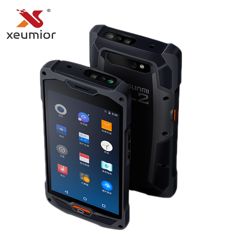 US $405 0 10% OFF Sunmi L2 Android 7 1 Industrial Handheld WIFI Bluetooth  4G QR Code Scanner PDA for Hospital-in Scanners from Computer & Office on