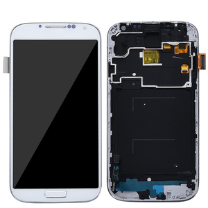 Image 2 - 삼성 s4 i9500 디스플레이에 대 한 프레임 삼성 갤럭시 s4 i9505 lcd 디스플레이 터치 스크린 디지타이저에 대 한 i9500 i9505 lcd