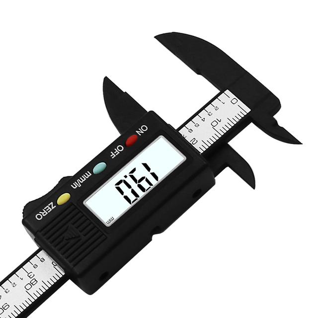 Digital Electronic Carbon Fiber Vernier Caliper Micrometer