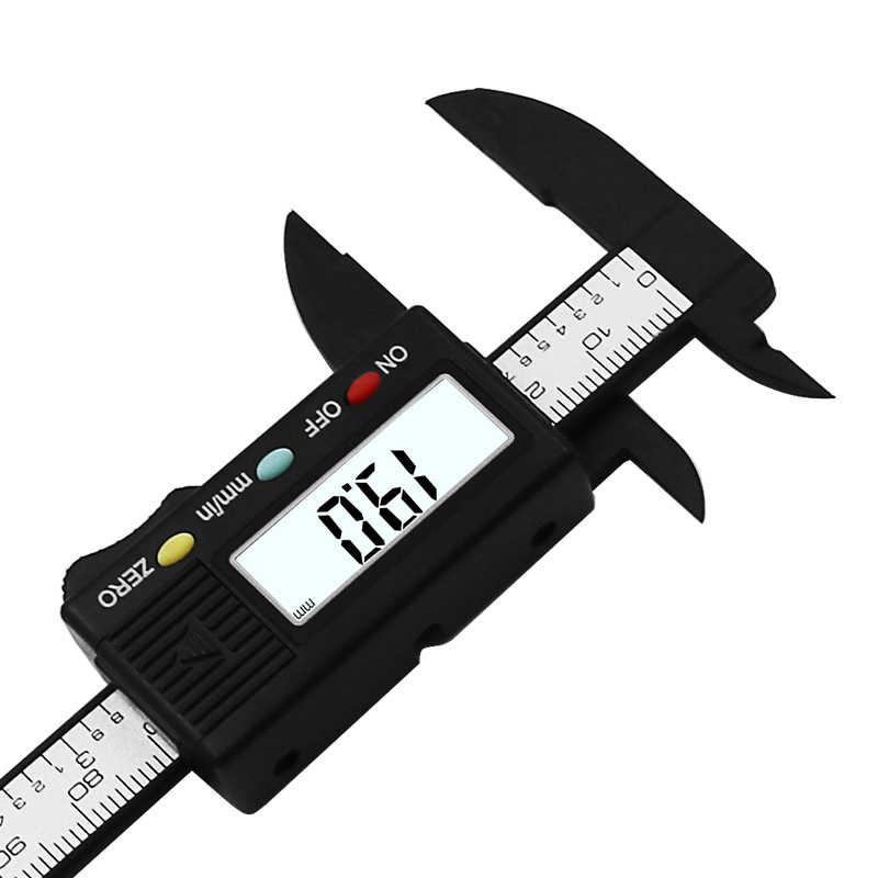 ดิจิตอลอิเล็กทรอนิกส์คาร์บอนไฟเบอร์Vernier Caliper Gauge Micrometerการวัดเครื่องมือ