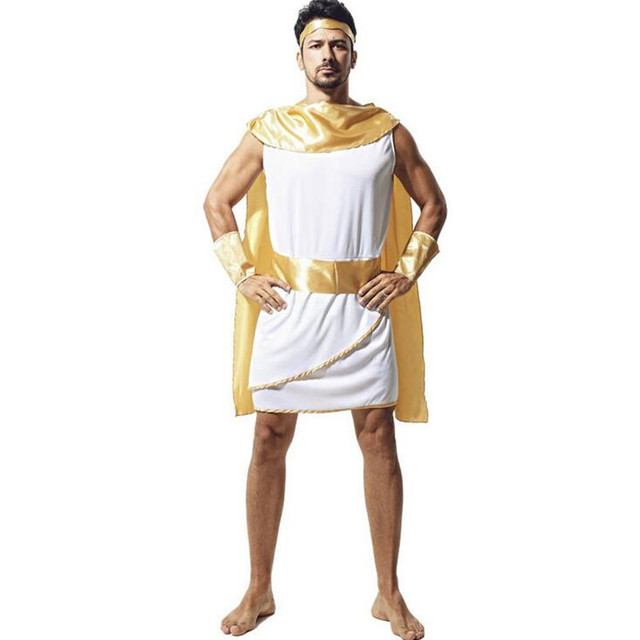 egypt costume men apollo costume adult cosplay halloween costumes party supplies new year