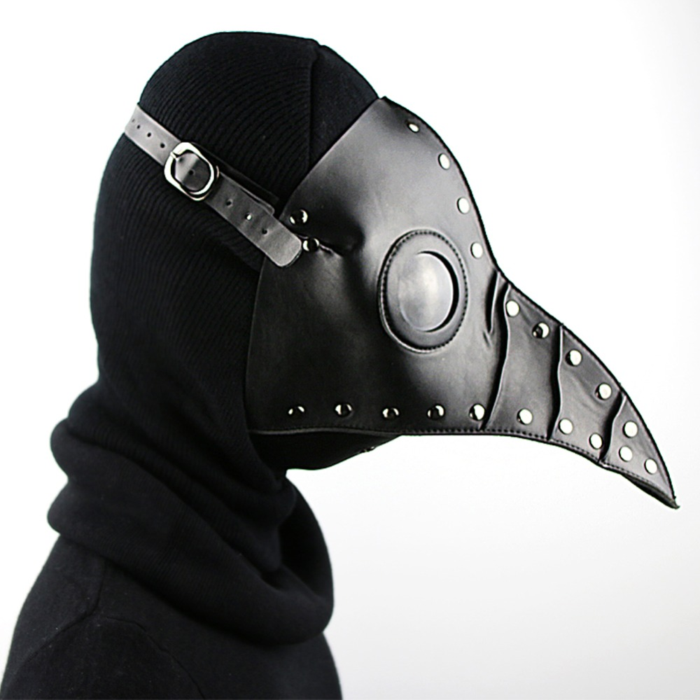 Steampunk Brand New Plague Doctor Mask Halloween