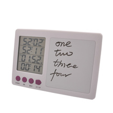 Free shipping, electronic four channel kitchen timer, hand written board digital kitchen cooking timer