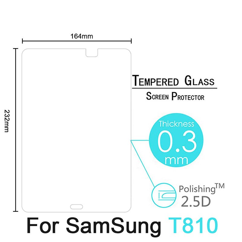 HD Tempered Glass For Samsung Galaxy Tab S2 9 7 inch T810 T813 T815 T819 Tablet