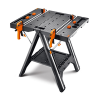 Multifunctional Workbench WX051 Simple Portable Woodworking Table Home Hardware Tools
