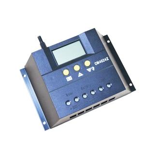 Image 2 - XINPUGUANG 12v 24v 60A ソーラーコントローラソーラーシステム自動レギュレータ充電器コントローラ Lcd ディスプレイ PWM 充電