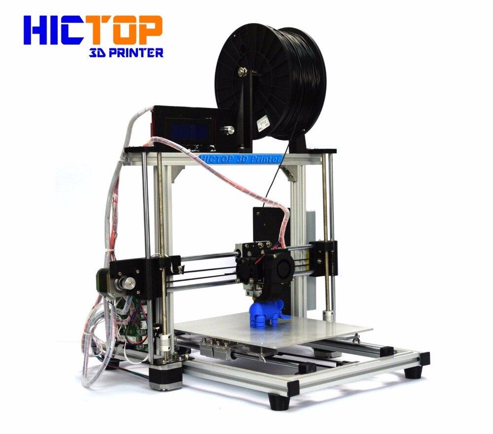 HICTOP Impresora 3d Aluminum 3D Printer auto level and filament control High Precision
