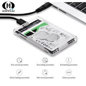 Image 5 - SATA a USB caja de la unidad de disco duro USB 3,0 2,5 Disco Duro SSD caja de disco duro mecánico con Cable USB