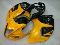 Bodywork GSX R1300 2008 2014 Yellow Black Abs Fairing HAYABUSA 2013 Fairings GSXR 1300 2010