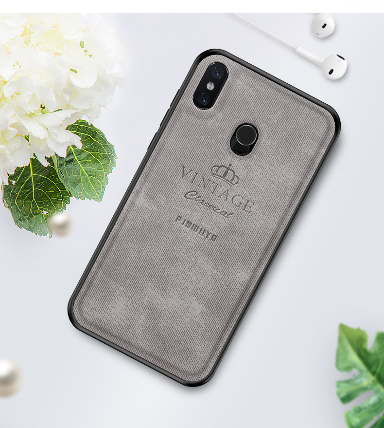For Xiaomi Mi 8 Case Original PINWUYO VINTAGE PU Leather Protective Phone Case for Xiaomi Mi 8 Shockproof Case in Half wrapped Cases from Cellphones Telecommunications
