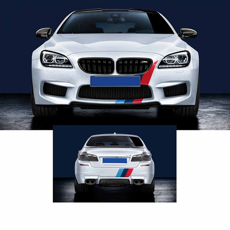 2019 1PC 1M * 15CM m-color voiture capot vinyle autocollant carrosserie décalcomanie voiture carrosserie autocollants sapin pour voitures allemagne italie drapeau français rayé