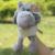 Conjunto de Títeres de Animales de Granja Para La Venta de Juguete Dedo Coon Famille Jirafa Peluche Brinquedos educativos Hipopótamo Jirafa Leopardo de Cocodrilo