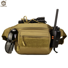 Tactical Molle Bag Waterproof Waist Pack Fanny Pack Hiking Fishing  Sports Hunting Waist Bags Tactical Sports Bag Belt