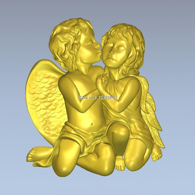 High Quality 3d Model Relief  For Cnc Or 3D Printers In STL File Format Angel_3