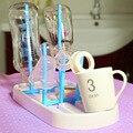 Детских Бутылочек Сушилка Бутылочки Очистки Сушилка Drainer Стеллаж Для Хранения Стекла Столешницы Сушилка для Младенцев Бутылок A0103