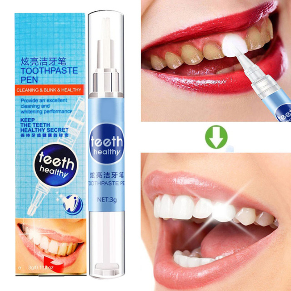 Y&W&F Portable Teeth Whitening Gel Pen Mouth Guard Teeth Whitening Daily Use Tooth Cleaning Dental Care Toothpaste Pen TSLM2