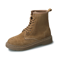 Spring and Autumn England wind women's shoes Korean walking boots fashion Martin boots.