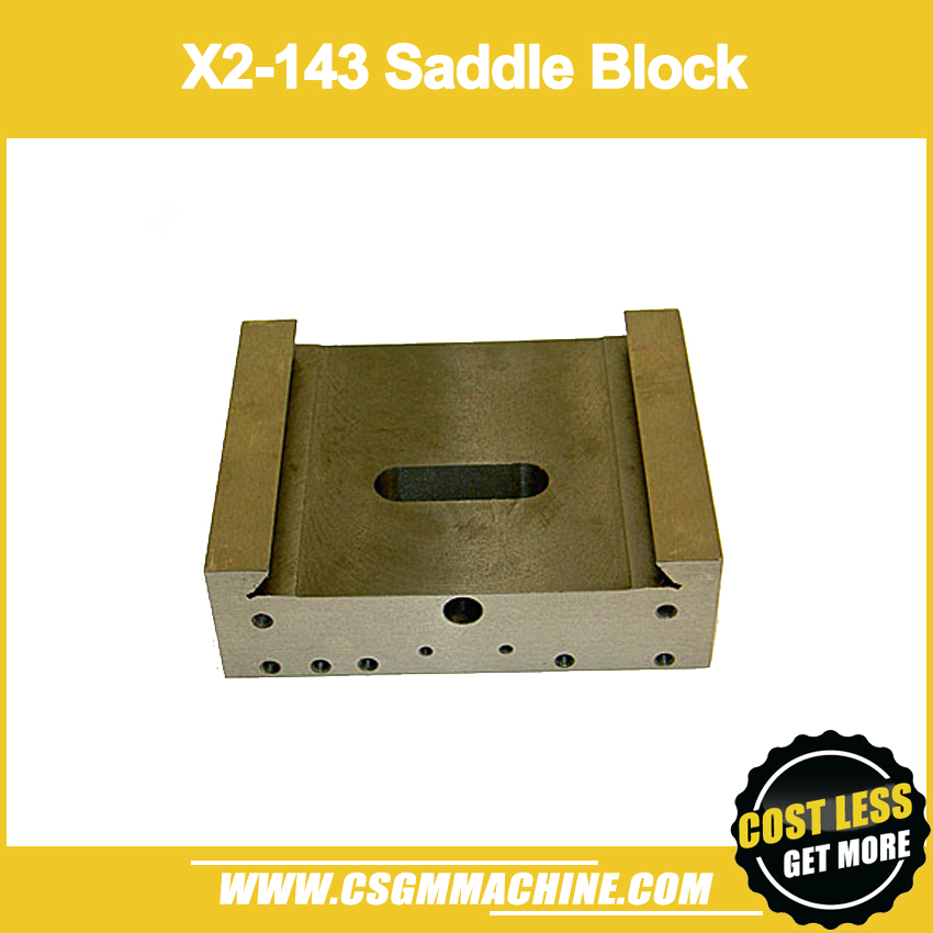 X2 Saddle block SIEG mill machine working table block