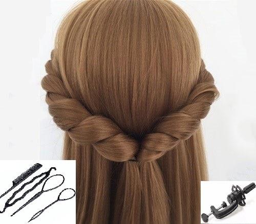 Szőke hosszú haj manökenfejek Ajándékok Parókák Képzés - Művészet, kézművesség és varrás