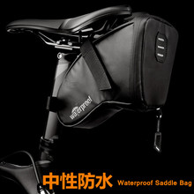 1L Portable Waterproof Bike Saddle Bag Cycling Seat Pouch MTB Mountain Road Bicycle Tail bags Rear Pannier Cycling equipment цена
