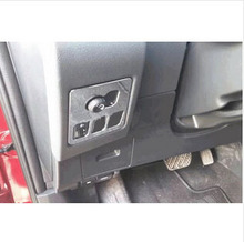 Free shipping car stickers of Multi-function switch ABS Chrome sequins for Nissan Qashqai 2011 2012 2013 2014